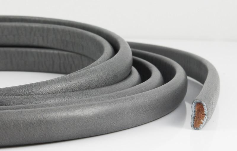 20 cm Nappalederband grau 10 x 4,5 mm Armband herstellen EU Rindsleder